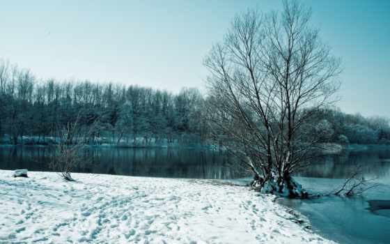 зима, снег Фон № 32091 разрешение 1920x1080