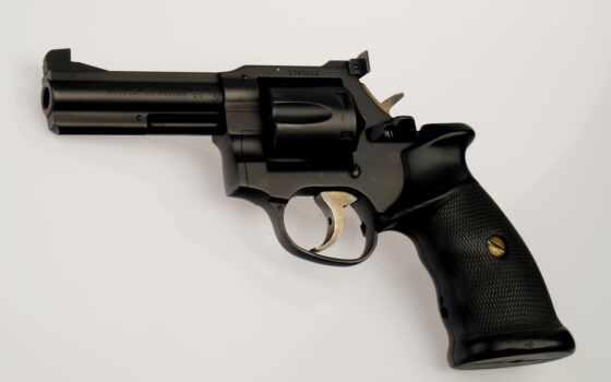 revolver, пістолет, барабан