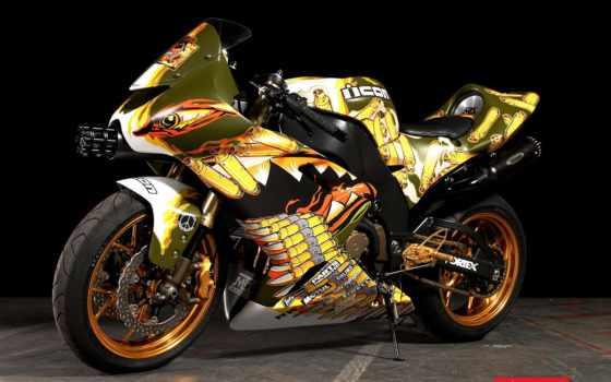красивые, мотоцикл, мотоциклы