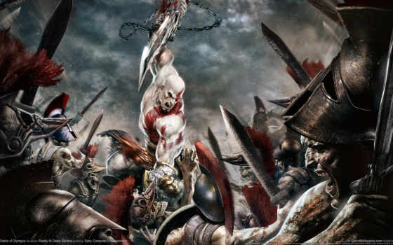 god, war