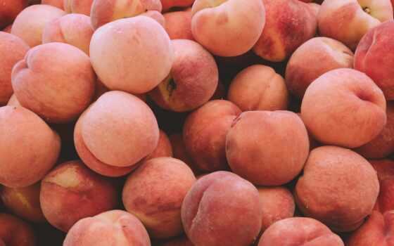 персик, many, картинка, плод, фон, сахар, запах, розовый, human
