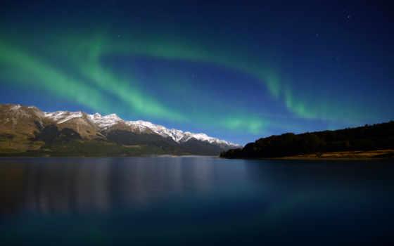 aurora, zealand, new