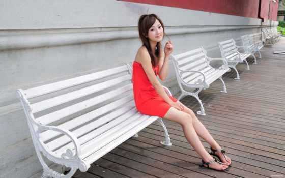 mikako, zhang, kaijie, women, asians, платье, desktop,