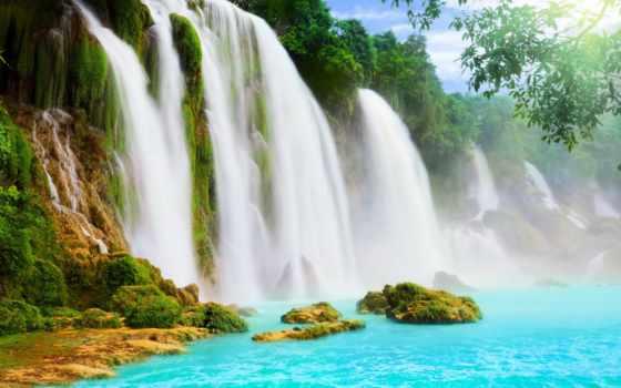 водопад, купить, готовые