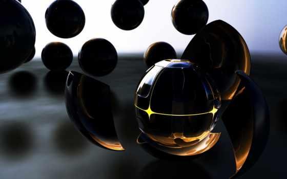 galaxy, pandora, темный, форма, переходов, стекло, осколки, шары, cgi, xposedbones,