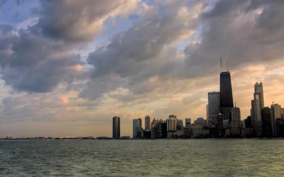 chicago Фон № 49518 разрешение 2560x1024