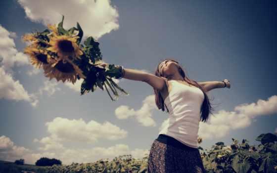 счастье, девушка, улыбка, browse, страница, поле, настроения, devushki, женское, pair,
