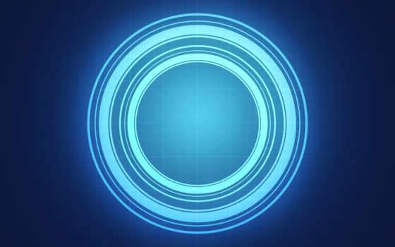свет, circle, blue, abstract, фон, circles, images,