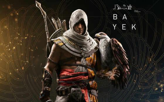 creed, origins, assassin, assassins, bayek,