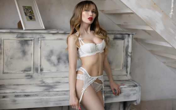 Белое белье , дамское белье