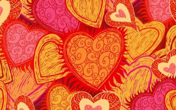 hearts, ярко