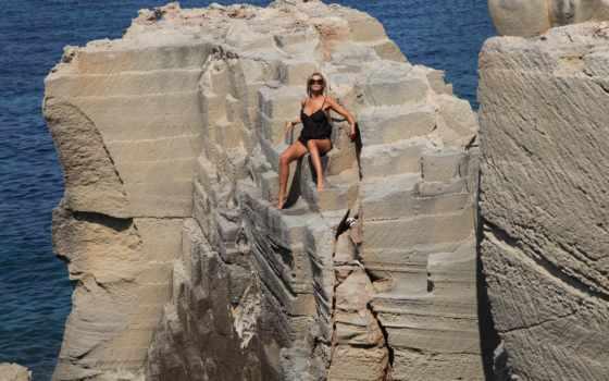 rock, climbing
