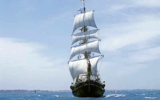 корабль, парусный