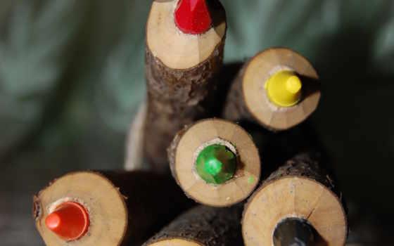 карандаши, цветные Фон № 23888 разрешение 1920x1200