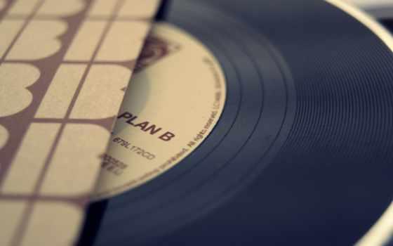 музыка, винил, record
