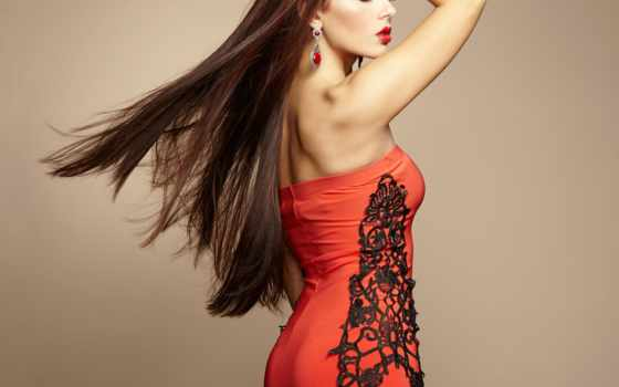 hairstyle, девушка, модель, волосы, stock, high, widescreen, платье,