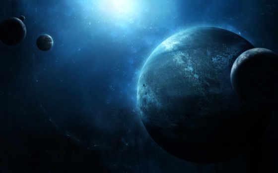планеты, звезды Фон № 32113 разрешение 1920x1080