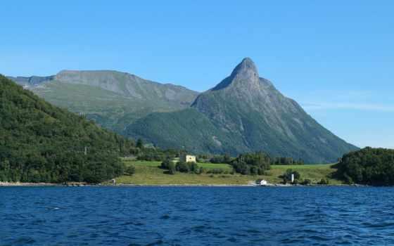 fjord, desktop, ecran, free, mobile, норвегия, macbook, pro,