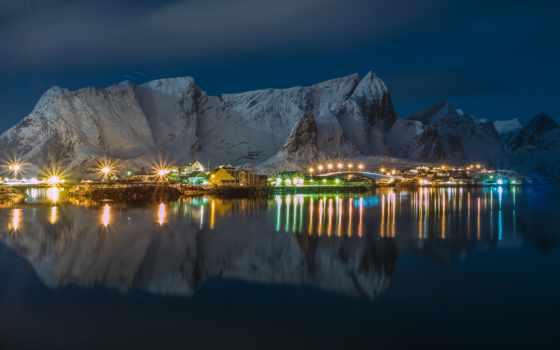 norwegian, горы, норвегия, bay, города, зимние, winter, снег, природа, indir,