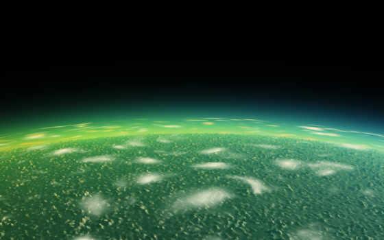 зелёный, planet, alien, earth, dark, космос, ак