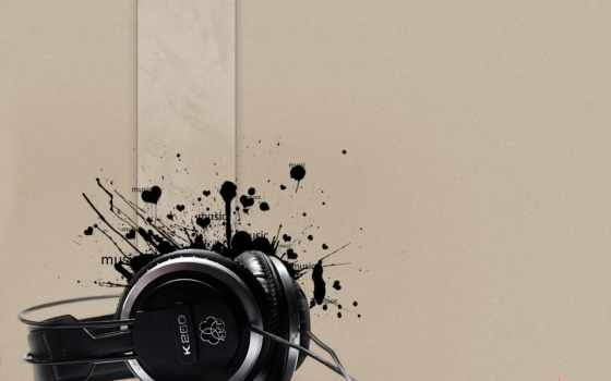 headphones, K260, black, heart