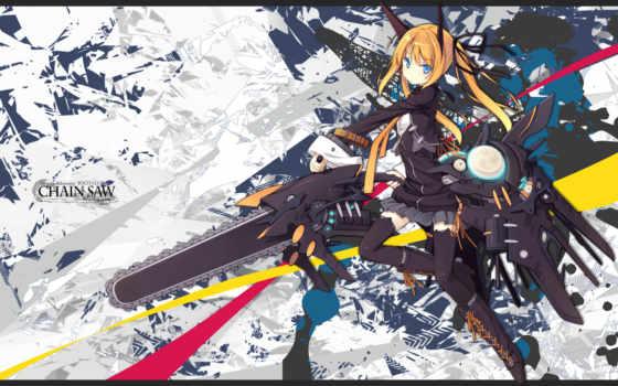 chainsaw, anime