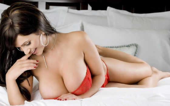 голая, груд, голые