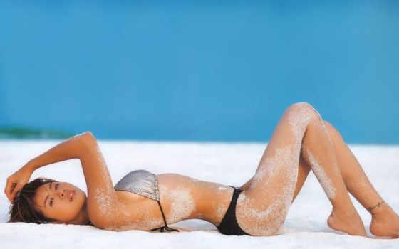 пляже, девушек, devushki