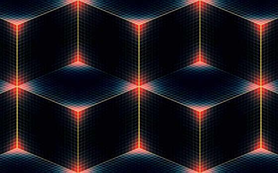 телефон, mobile, cube, diamond, оттенок, line, кубик, square,