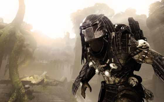хищник, aliens, youtube, game, за, facebook, часть, прохождение, хищника,