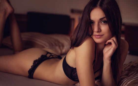 девушка, красивый, see, обнаженная, many, нью, палуба, brunette, fragile, miniature