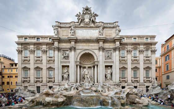 фонтан, рим