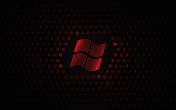 red windows logo