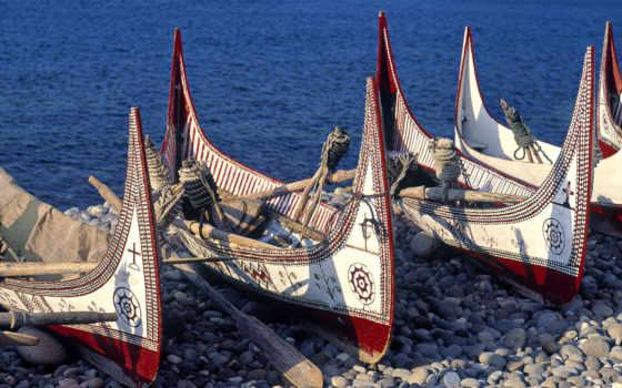 лодка, пирог, лодки