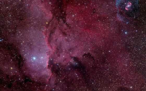 ngc, nebula, таятся, stars, туманности,