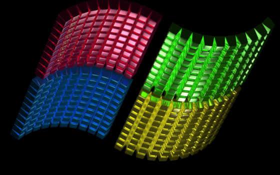 виндовс лого из сегментов