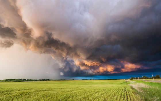 буря, пейзажи -, природа