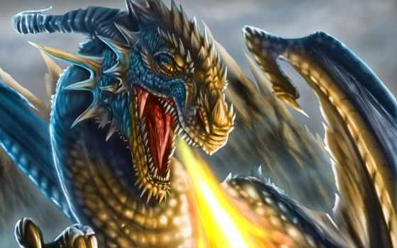mobile, телефон, дракон, desktop, jaws, пасть,