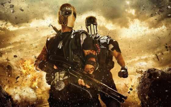 два, чертовка, армия, cartel, game, мужчина, воин