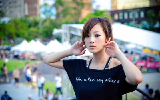 азиатка, девушка