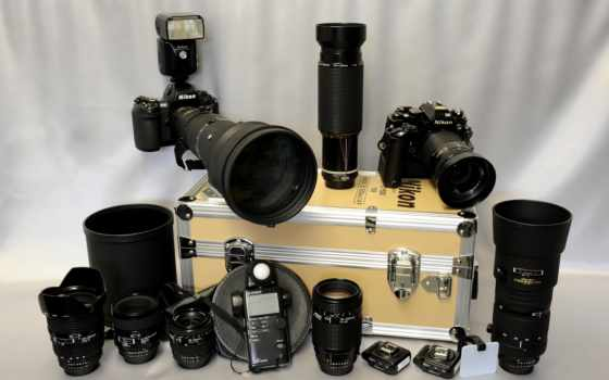 фотоаппарат, фотоаппарат, много