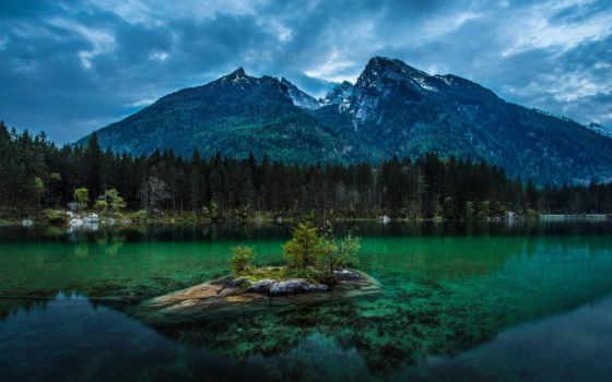 national, berchtesgaden, park, германия, плеядеянец, german, небо, природа, горы, за,