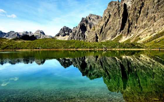 природа, austrian, горы, австрии, tyrol, картинка,