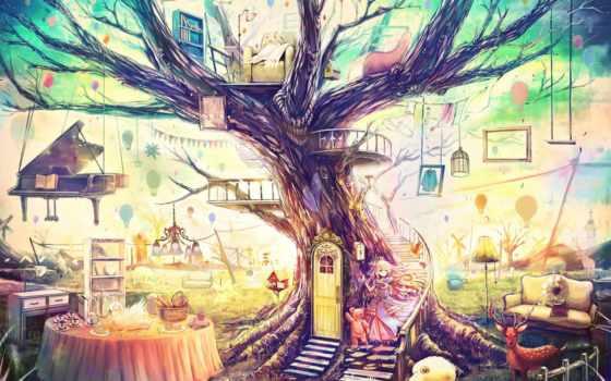 anime, качели, игрушки, шары, воздушные, лучшая, коллекция, девочки, рисунки, shui,