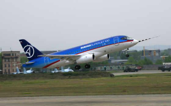 superjet, sukhoi, самолеты, самолёт, авиация, компьютер, ssj, пассажирские,