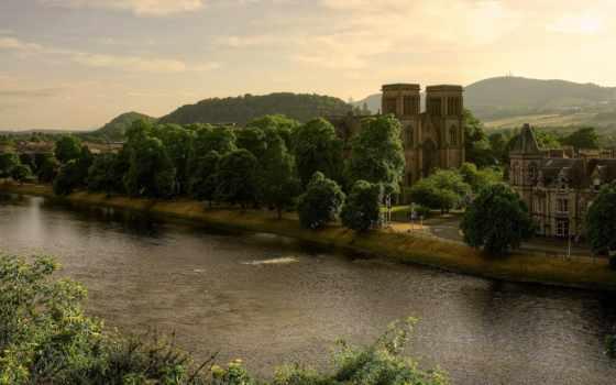 эндрюс, шотландия, great, великобритания, cathedral, andrews, андрус,