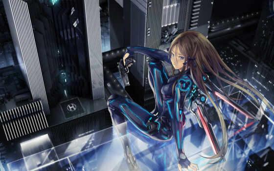 anime, графика, красивые