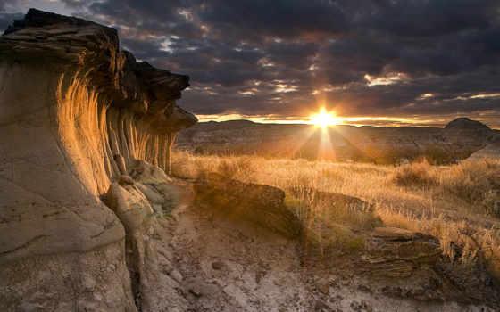 пустыня, rar, мб, дек, закат, landscapes,