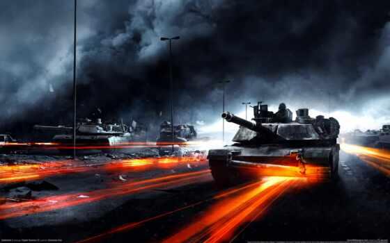 танки, battlefield, war