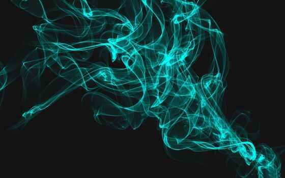 blue, бирюзовый, abstract, chart, дым